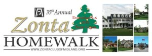 SPACE Supports the Zonta Club of Midland's 35th Annual HomeWalk