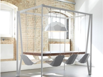 Fun and Fabulous Swing Table from Duffy London