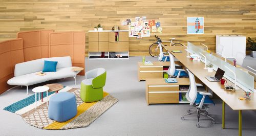 Haworth Openest Collection Creates Spaces for Collaboration
