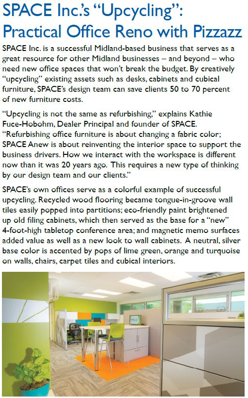 Midland Tomorrow Features SPACE anew's Upcycling Capabilities