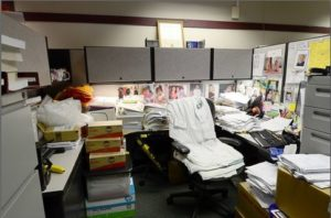 What to Do About a Workplace Hoarder