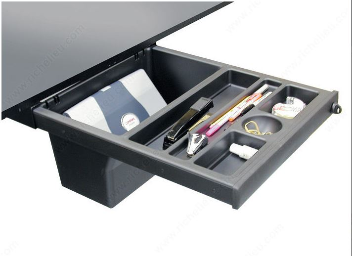 Need Purse or Lunch Box Storage in Your Workstation?  Try a Pelican Drawer