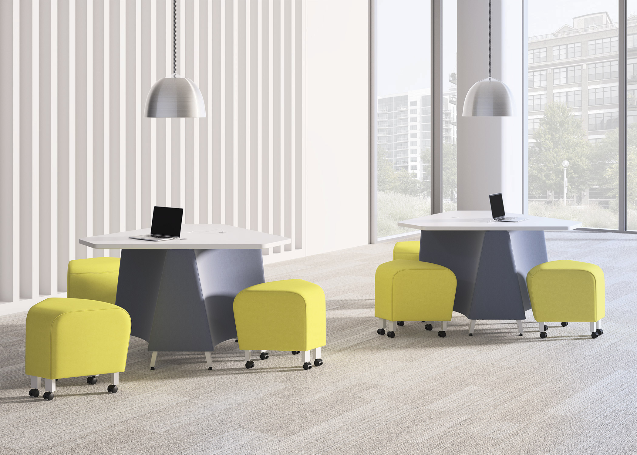 National Office Furniture Introduces Kozmic & Manuever Collections